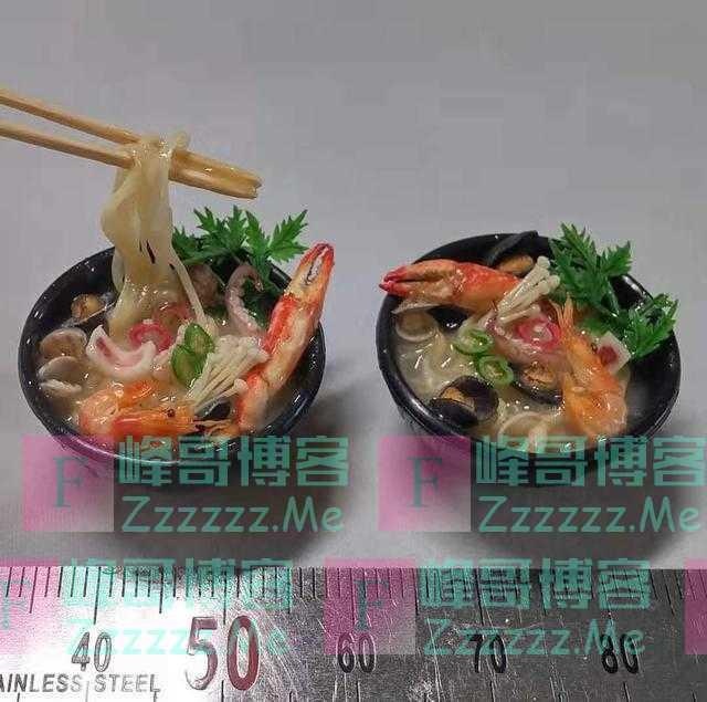 世界上'最小的料理',直径只有3cm,每款都超级治愈!