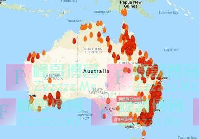 科普:澳大利亚已烧毁600万公顷森林,为何不用人工降雨来灭火?