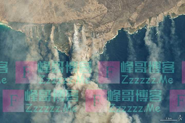 澳洲燃烧100多天,卫星看到浓烟四起,科学家:烟雾已绕地球半圈