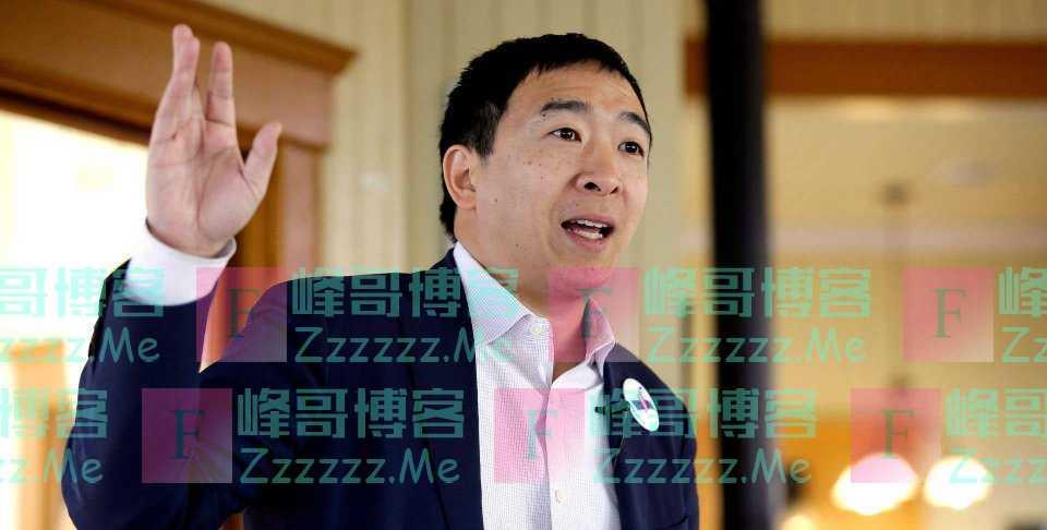 谁说华裔不能当总统?杨安泽支持率一路飙升,一旦当选改变美国历史