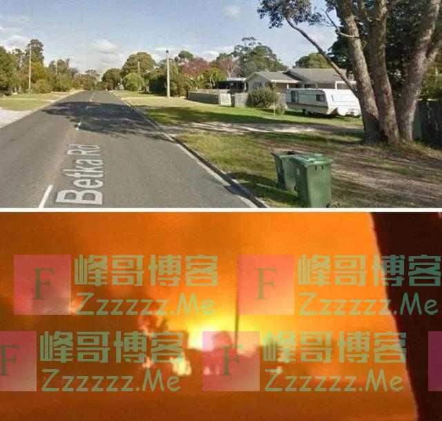如世界末日!澳森林大火破坏对比照曝光:一边是天堂一边是地狱