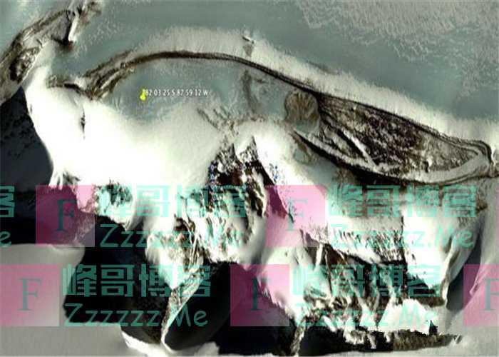谷歌地球在南极发现3200米古墙,疑似金字塔物体,古文明遗迹?