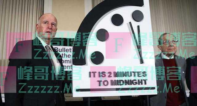 末日时钟的指针又向前拨动了20秒,距离世界核大战不到两分钟?