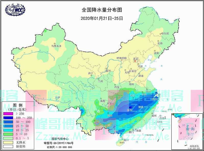 确定了!新年抗旱喜雨正在下,华南旱情大减弱,但全国大晴要推迟