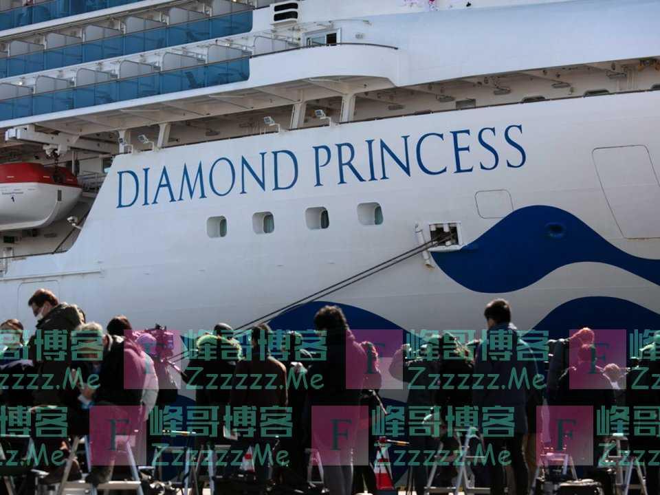"""日本""""钻石公主号""""乘客揭隔离生活:自己的厕所自己洗"""