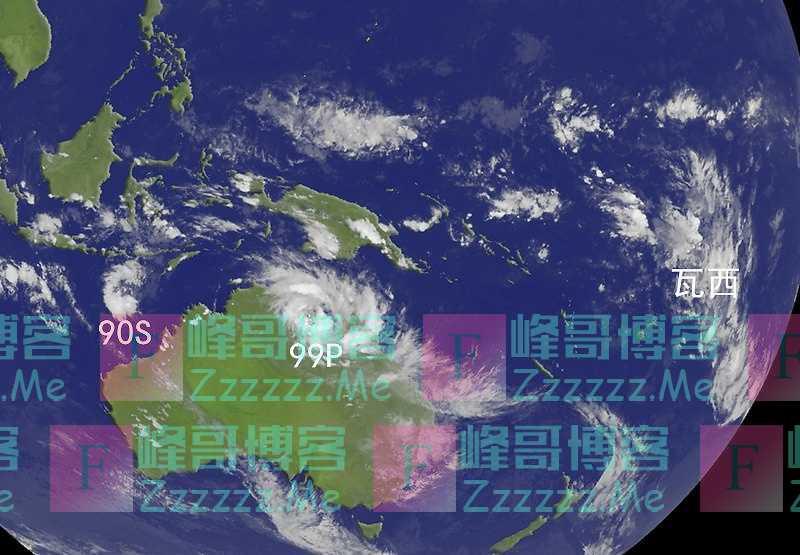 2020全球首个超强台风?权威预报:99P生成加快,或成16级还登陆