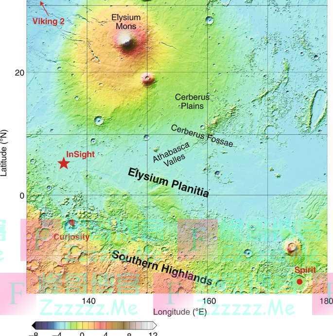 科学家首次确认火星是地震活跃的行星