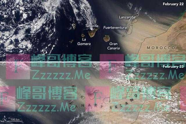 """NASA卫星路过非洲,一股""""烟雾""""正在横跨大西洋,地球或在大变"""