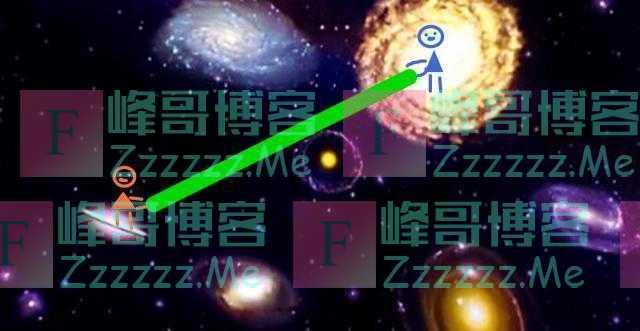 假设推动一根长达一万光年的棍子的一端,另一端会立刻动吗?