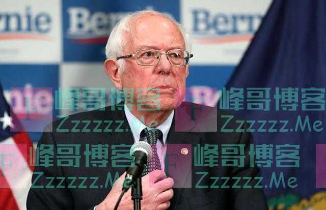 """桑德斯:我们美国不能是""""有钱就能治,没钱就等死""""的国家"""
