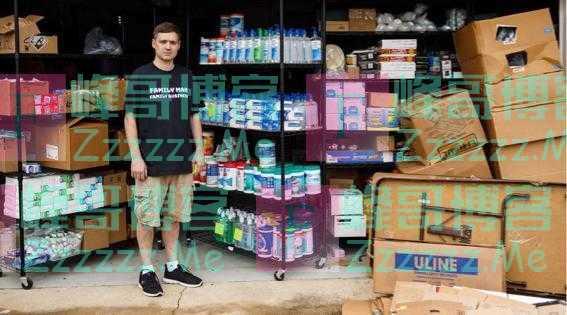 美国两兄弟扫空超市囤了2万瓶洗手液,只卖了一天高价就开始发愁