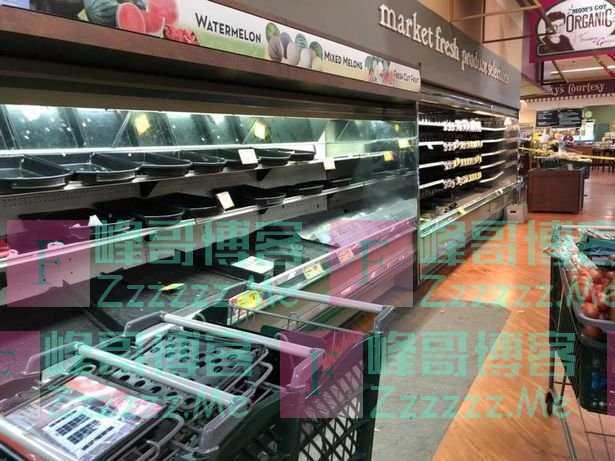 美国一女子故意对着超市食物咳嗽,导致损失超过24万人民币