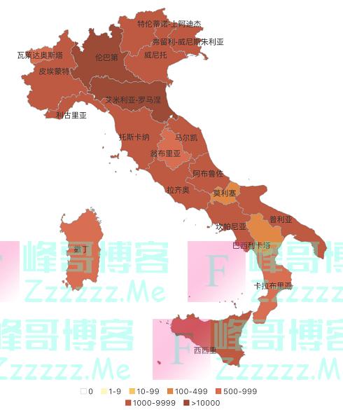 截止到3月30日, 疫情最新动态, 德国大爆发, 与意大利截然不同
