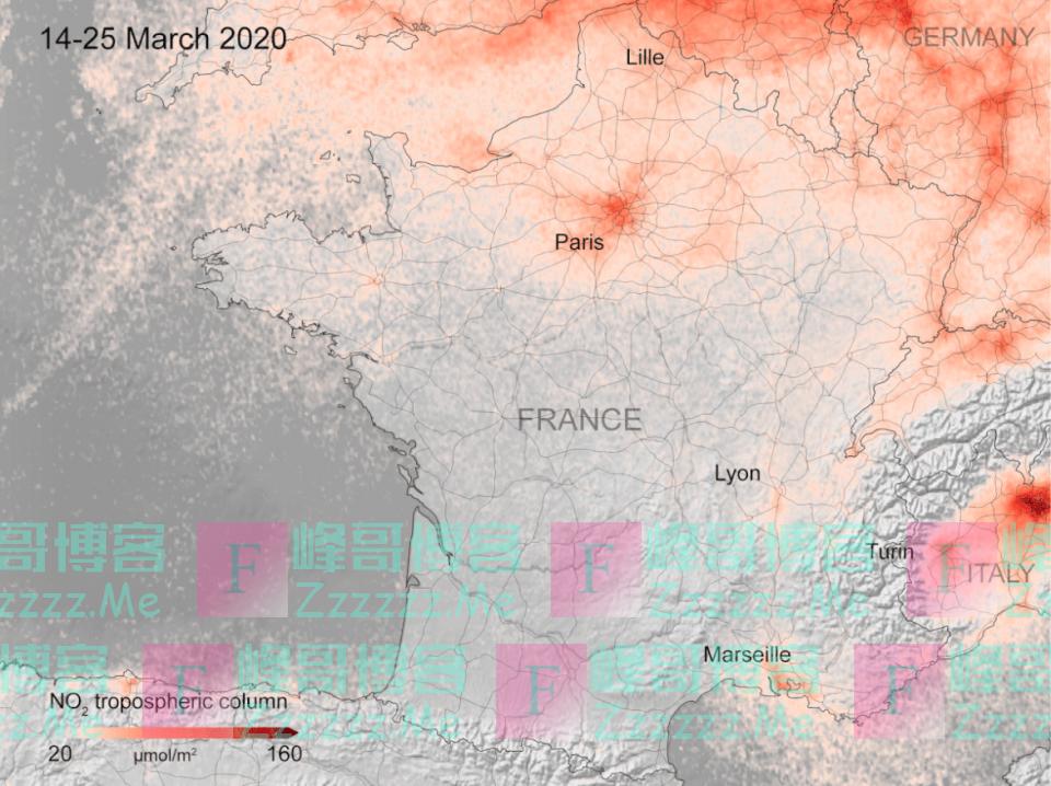 """冠状病毒间接""""拯救了""""地球的生态!欧洲空气污染大幅度下降!"""