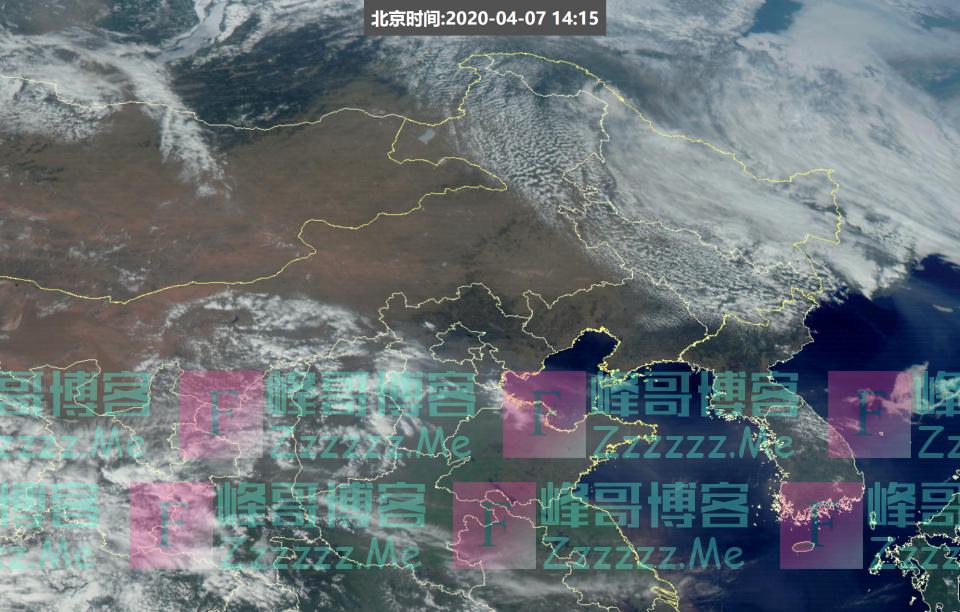 """东北出现大量""""米粒云""""太空可见!分析:是南方第二轮倒春寒前兆"""