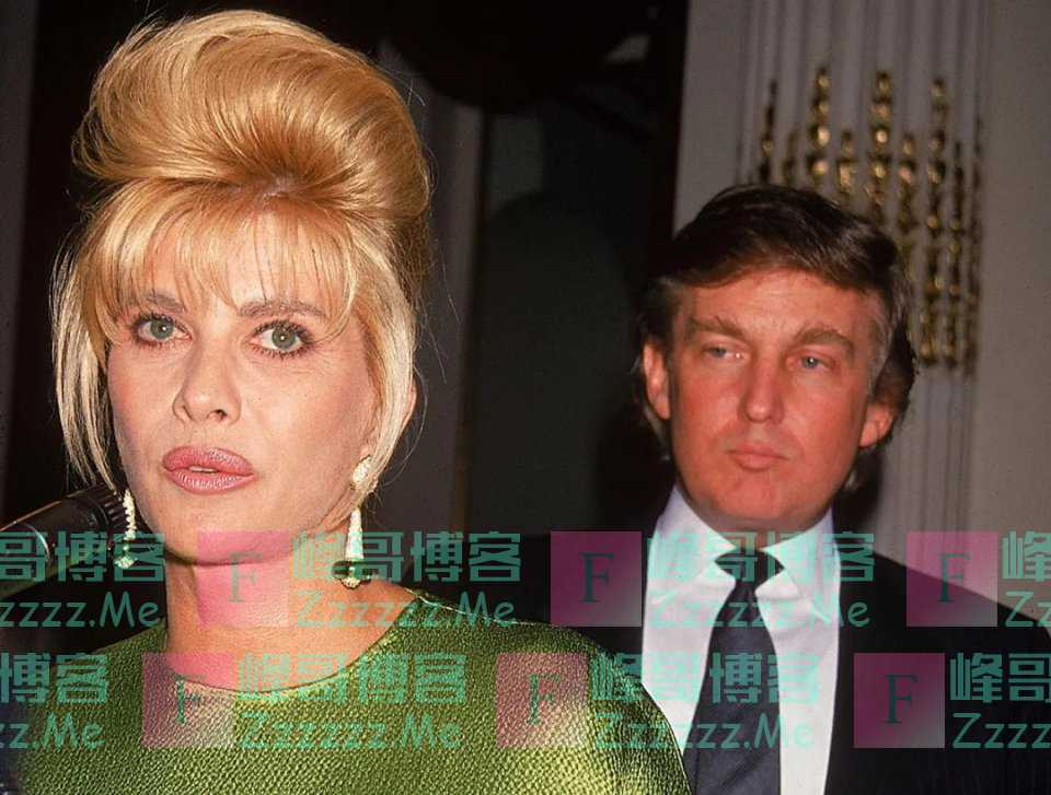 46岁特朗普首次离婚,东拼西凑拿出2500万,就是为了补偿原配