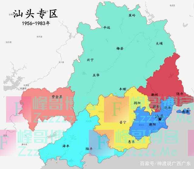汕头市为什么会一分为三,拆分成汕头市、潮州市、揭阳市?