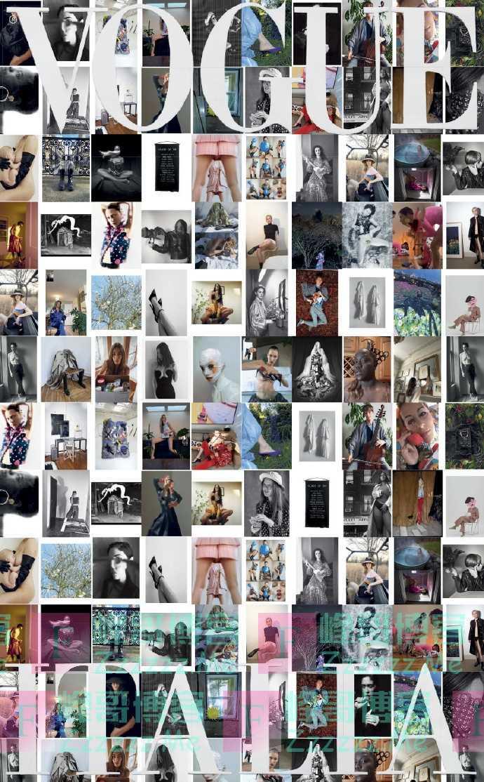 """众超模""""全裸""""出镜!意版Vogue4月刊以疫情为主题,为光明与重生"""