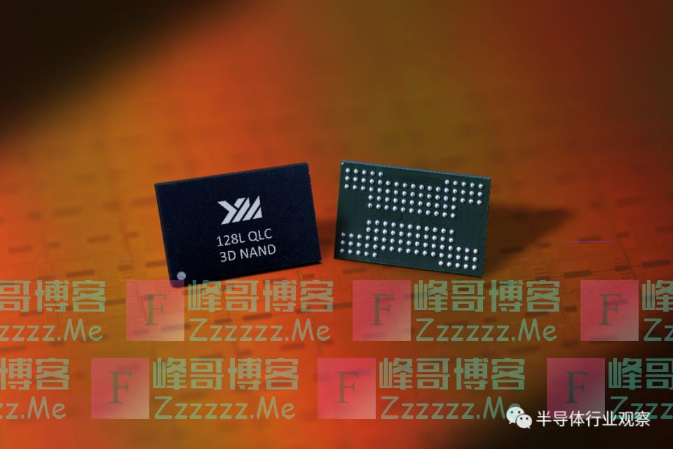 长江存储宣布推出128层闪存,单颗容量达1.33Tb