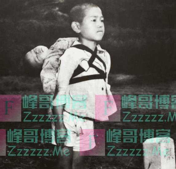 日本原子弹爆炸后,那个背着弟弟的遗体去火葬场的6岁男孩,现状如何了?