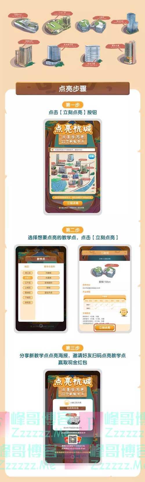 杭州学而思点亮杭城拿千元红包、iPad、百元学习套装!(4月24日截止)