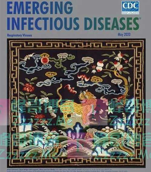 现在的美国像极了清末:CDC用清朝武官图作期刊封面