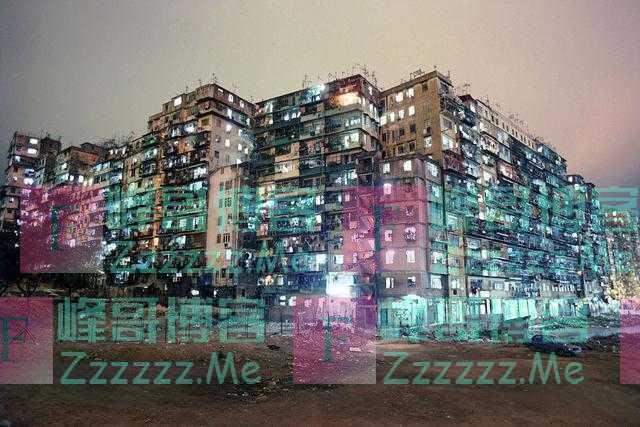 八十年代香港九龙寨城,三不管地带的市井生活