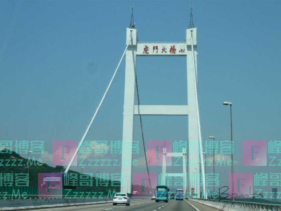 虎门大桥的设计强度能够抵抗61米/秒的风速!