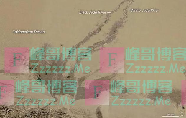 美国:塔克拉玛干沙漠中有绿色?西北越来越湿润,云南却大旱了!