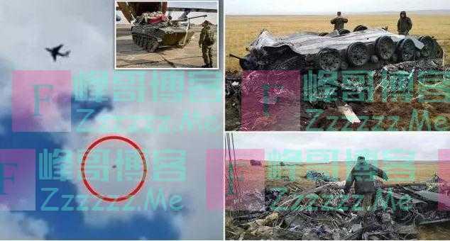 7吨重坦克从1500米高空掉下来会怎么样?俄罗斯演习出事故了
