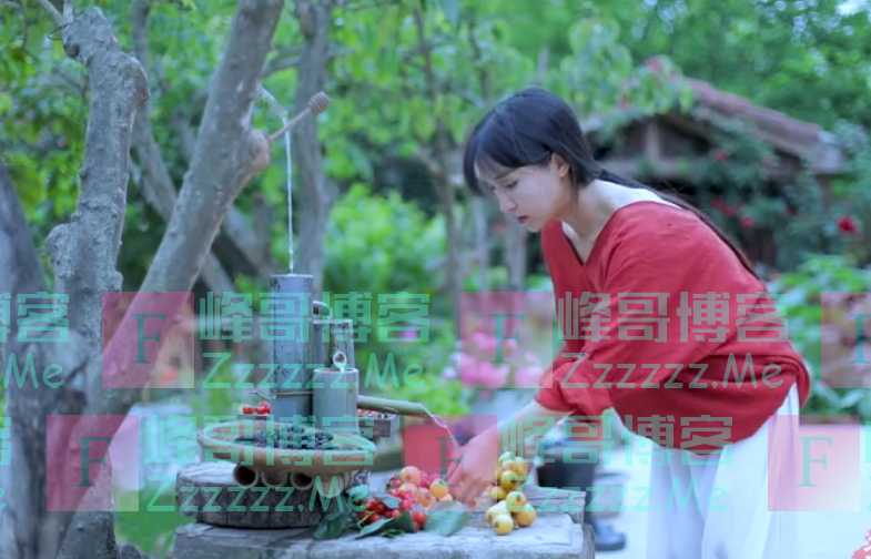 """李子柒教做""""水果雪糕"""",看清镜头下的水果,网友:还说没摆拍?"""