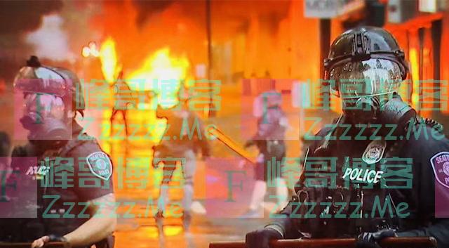 彻底乱了! 北京时间6月7日美示威者开始抢火车, 美警加入抢劫队伍