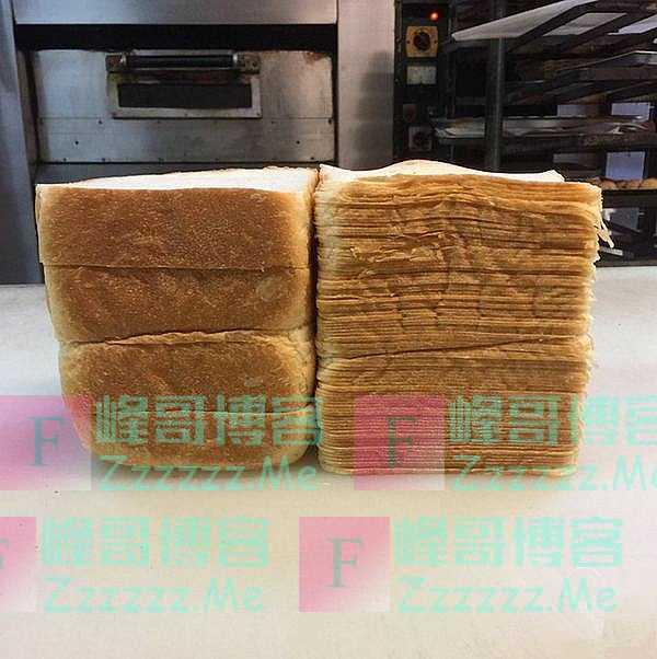 米其林厨师炫耀刀工,面包切88片,中国拉面师傅默默地拿起了牛肉