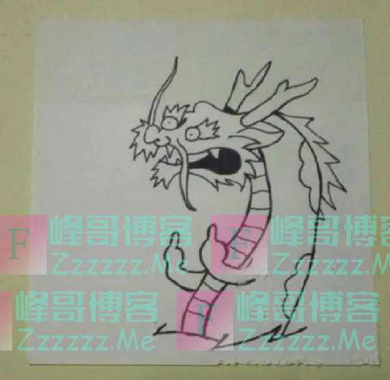 每日一笑:美术生因为考试时间不够强行完成的作品,简直神作!