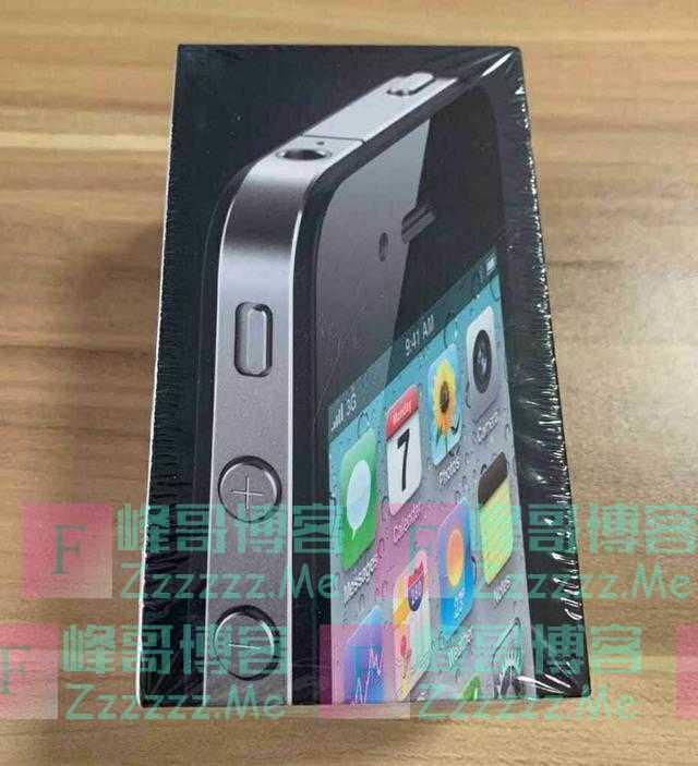 闲鱼惊现全新未拆封的iPhone4,十年前发布价4999,如今还卖1288
