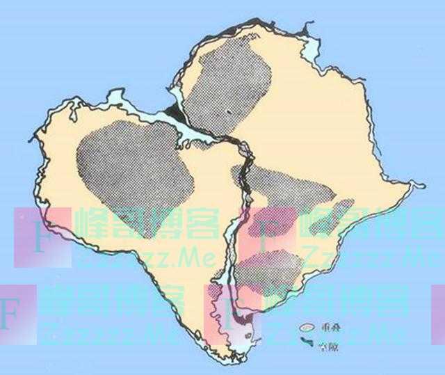 外国人在地图上发现了一个奇怪现象,从此解开了地球大陆的奥秘