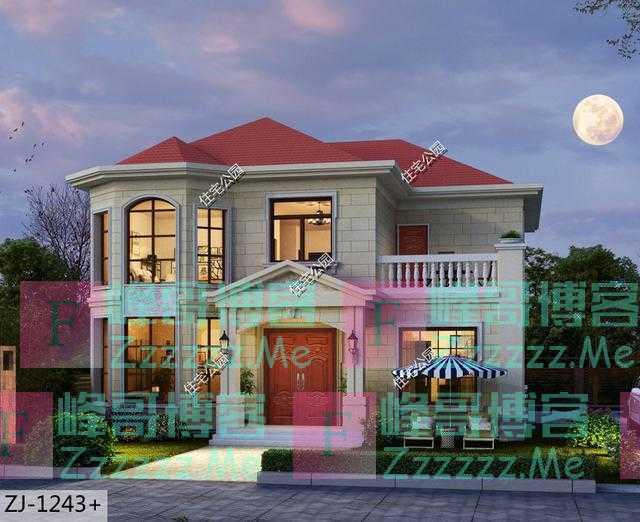12×14米的农村自建房,盖两层楼房需要多少钱?