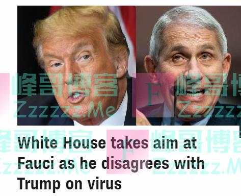 美国确诊病例超340万,美国内部一团糟:白宫突然对抗疫队长动手了