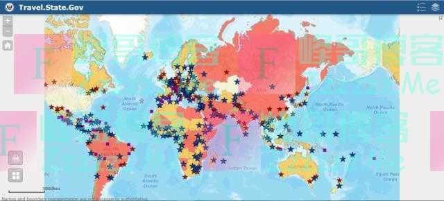 """中国大陆被列为""""最高风险""""?美国务院发布的旅行警告让人看不懂"""
