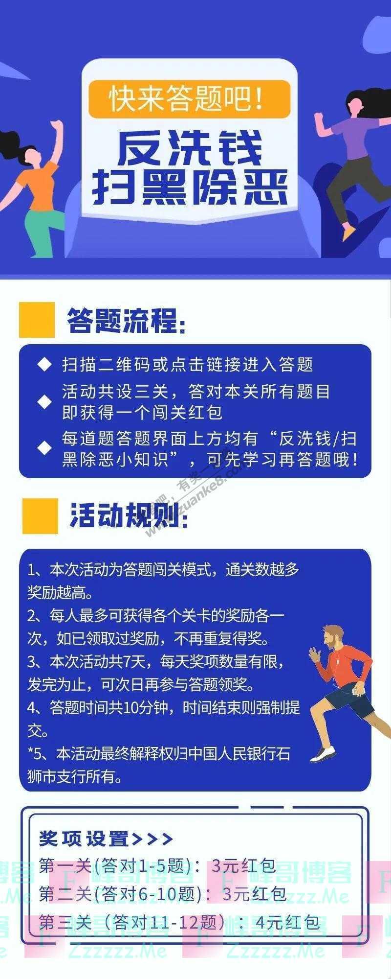 石狮农商银行答题涨知识,学习赢红包(截止8月23日)