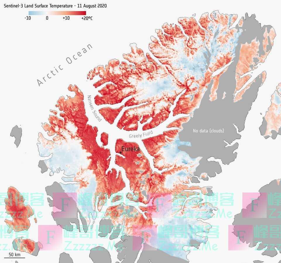 """38度高温!8个月244兆吨二氧化碳,北极正在打开""""潘多拉魔盒""""?"""
