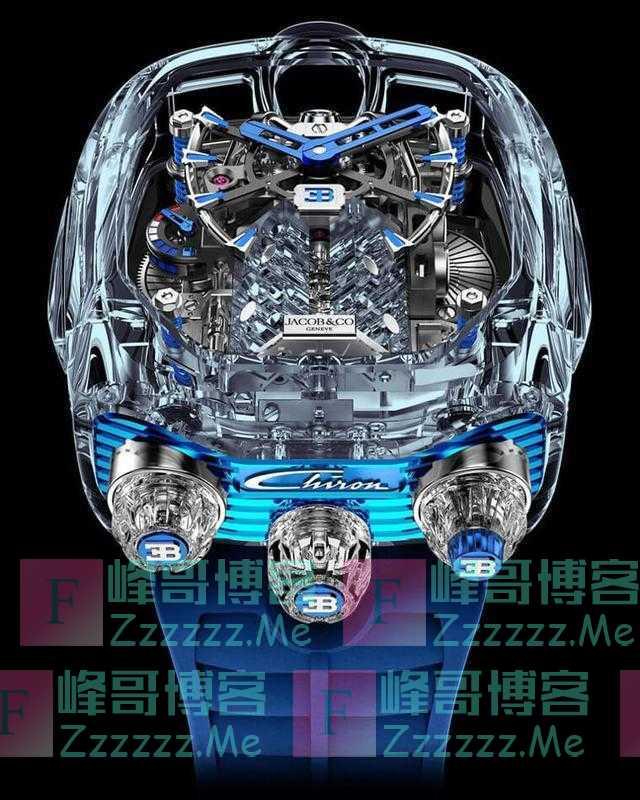 """售价198万""""布加迪手表""""内置""""16缸发动机""""网友:贫穷限制想象"""