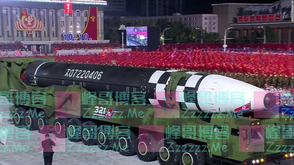 朝鲜新导弹长度超过东风41,射程逼近东风5B,技术水平远超印度
