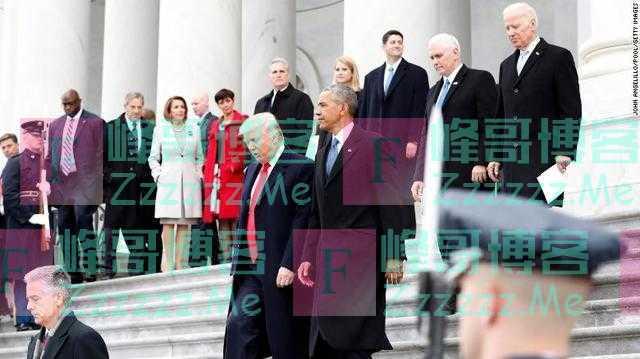 拜登正午就职,特朗普给自己安排大型欢送会,一走白宫就全面消毒