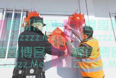"""让""""就地过年""""的农民工感受到北京的温暖"""