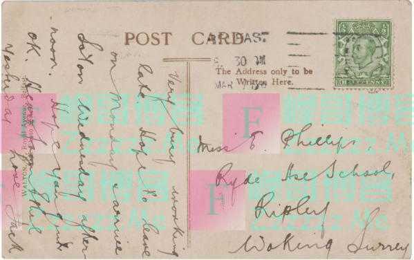 泰塔尼克号船员明信片将被拍卖:估价10万人民币 落款亮了