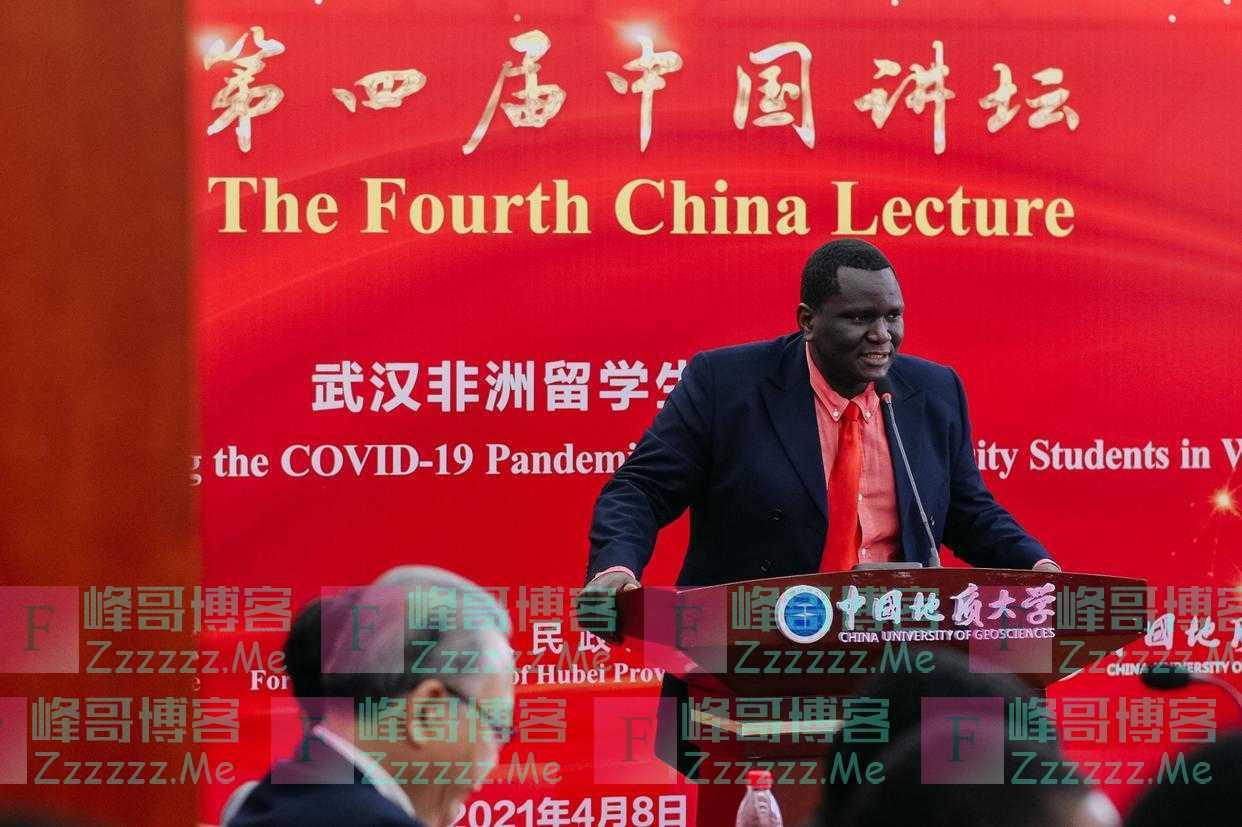 """曾在武汉参与抗疫,非洲留学生说""""要和中国一起患难与共"""""""