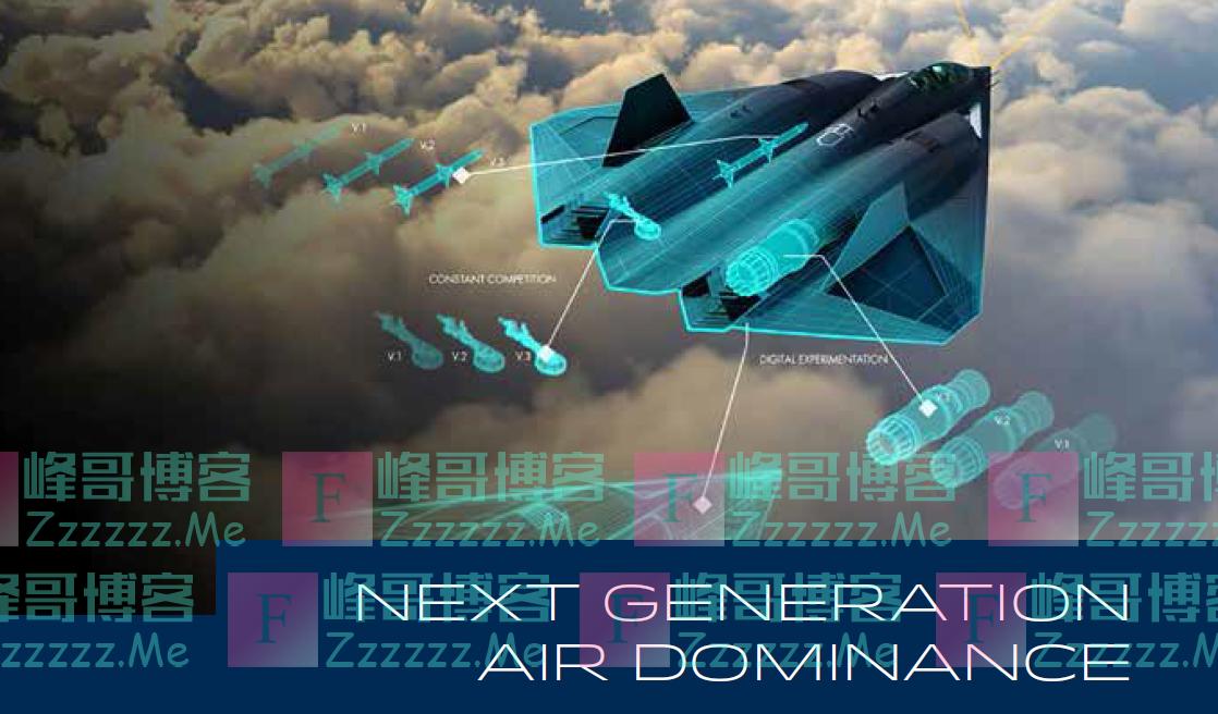 六代机长这样?美空军发布新一代战机概念图,进气道在机身上方