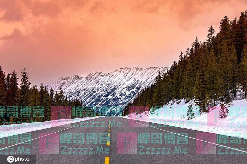 这是天堂吧!加拿大贾斯珀国家公园雪景美如画卷