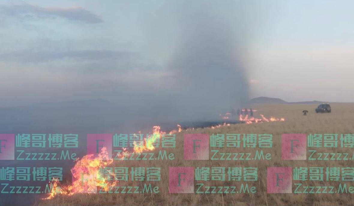 独家   卫星图像告诉你,为什么蒙古国草原大火无法跨过中国边境线